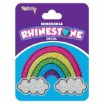 Rainbow Cloud Rhinestone Decal