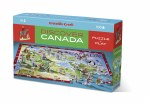 Discover Canada Learn & Play Puzzle 100 Pc