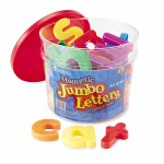 Jumbo Lower Magnetic Letters