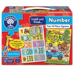 Look & Find Number Jigsaw Puzzle