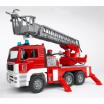 MAN Fire Engine With Water Pump Ladder