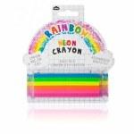 Neon Rainbow Crayon