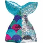 Mermazing Reversible Sequin Pillow