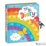 Lock & Key - Rainbow Diary