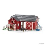 Large Red Barn with Animals & Accessories