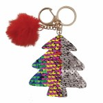 Reversible Sequin Christmas Tree Clip