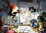 The Artist's Desk 1000 Pc