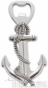 Bottle Opener - Anchor
