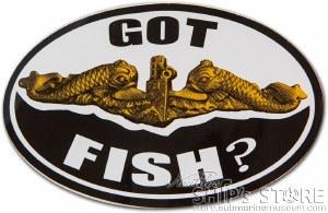 Sticker - Got Fish? Officer