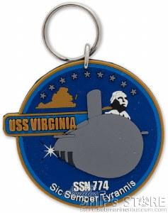 Key Chain - USS Virginia