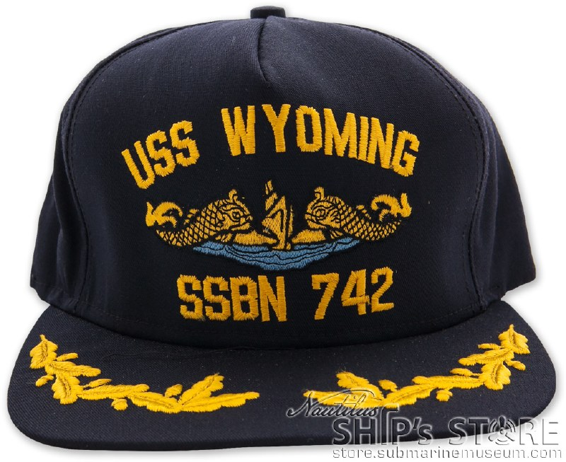 Cap - USS Wyoming EO