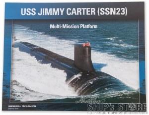 Lithograph - USS Jimmy Carter