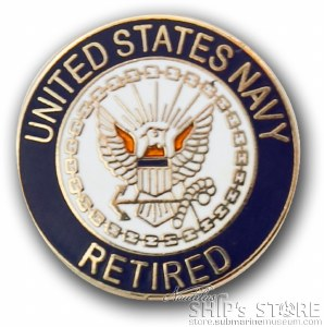 Pin - Navy Retired