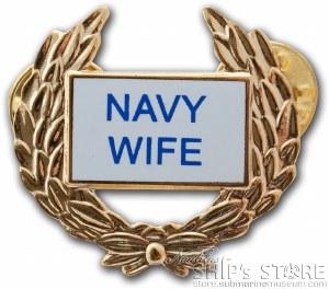 Pin - Navy Wife