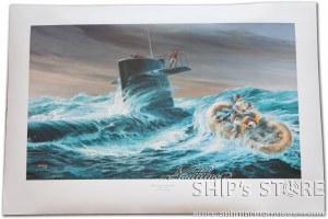 Print - Submarine USS Barb