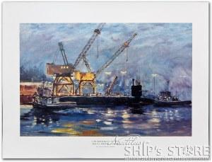 Print - Submarine USS Michigan