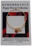 Bracelet - Red Poppy w/sub