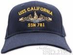 Cap - USS California Officer