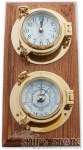 "Clock - 5.5"" Porthole  Double"