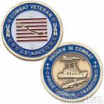 Coin - Navy Combat Veteran