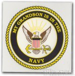 Decal - Navy Grandson