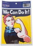 Decal - We Can Do It! - Rosie