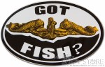 Sticker - Got Fish? Officer