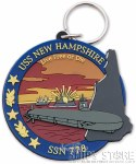 Key Chain - USS New Hampshire
