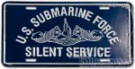 License Plate - Silent Service