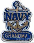 Magnet - Navy Grandma