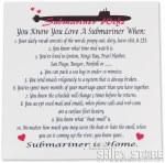 Poem - Submariner's Wife