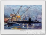 Print - Submarine USS Michigan