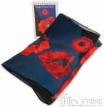 Scarf - Red Poppy