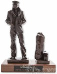 Statue - Lone Sailor w/ Seabag