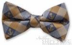 Tie - Bow Tie Navy Checked
