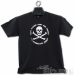 T-Shirt - Skull and Bone YXS