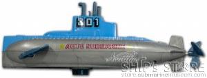 Toy Submarine - Blue Wind Up