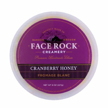 Fromage Blanc- Cranberry Honey