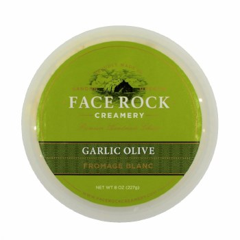 Fromage Blanc- Garlic Olive