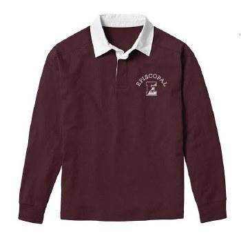 Rugby Shirt maroon xxlarge