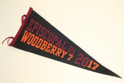 117th Game Pennant with score