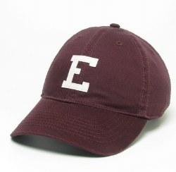 E Hat Maroon Twill