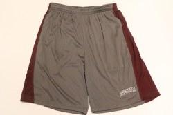 Charcoal Shorts w/stripe
