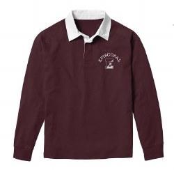 Rugby Shirt maroon xlarge