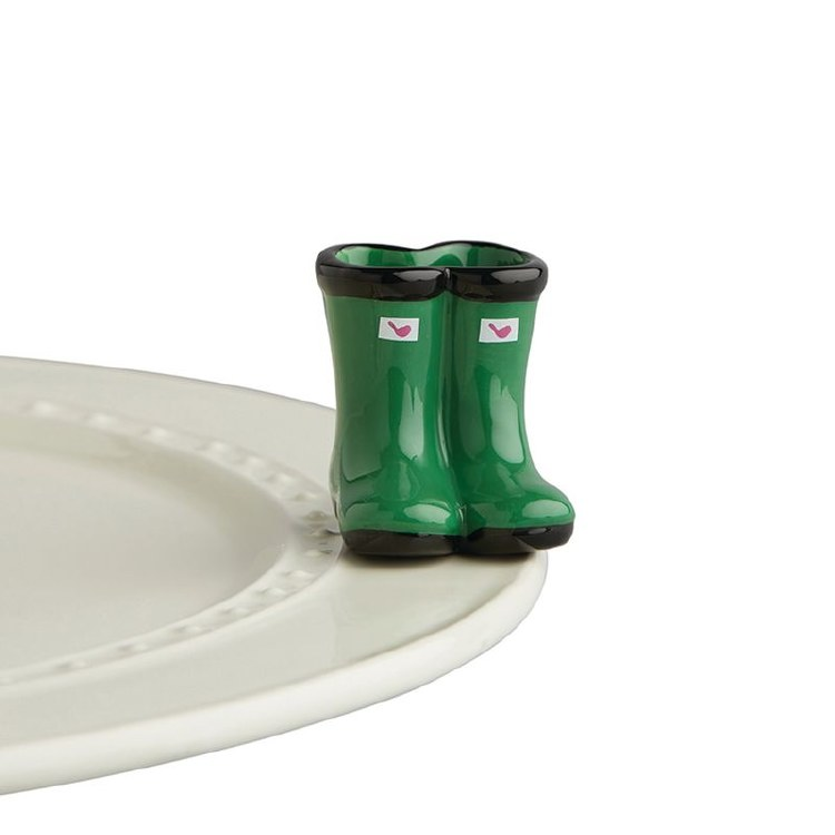 Nora Fleming Rainboots Mini