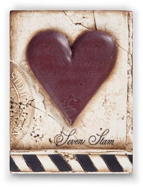 Sid Dickens T175 Seven of Hearts Memory Block