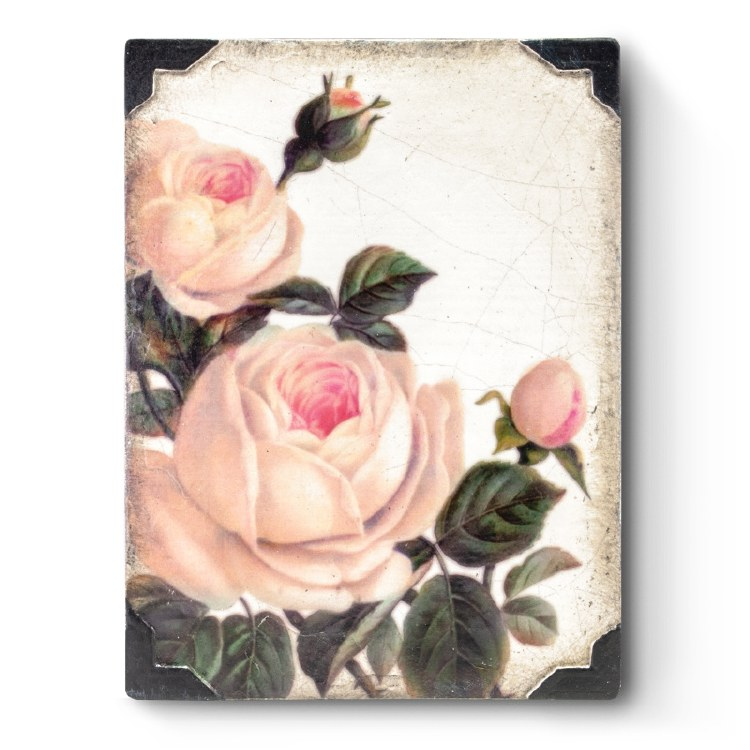 Sid Dickens T464 Gentle Rose Memory Block