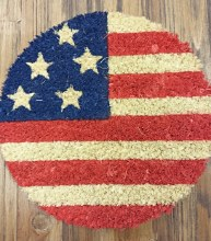 "9"" Flag Decoraitve Coir Insert"