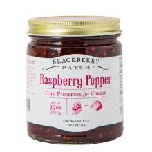Raspberry Pepper Fruit Preserves for Cheese