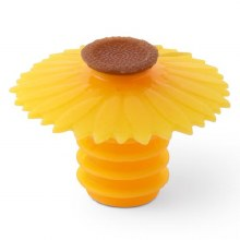 Sunflower Silicone Wine/Bottle Stopper